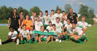Pokalsieger A-Junioren