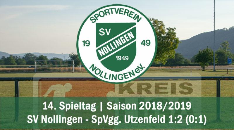 Knappe Niederlage gegen Utzenfeld