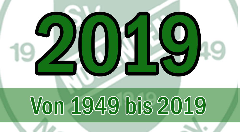 Von 1949 bis 2019: 70. Jahr